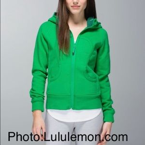 Lululemon Scuba Green Bean Hoodie 6